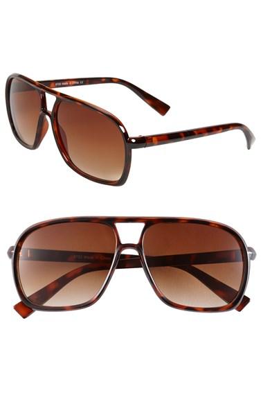 KW 58mm Aviator Sunglasses ...