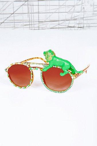 Spangled Rave Lion Glasses