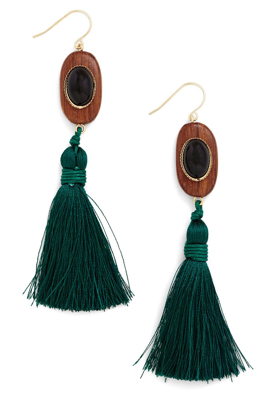 Tassel Dazzle Earrings | Mo...