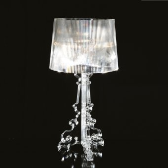 Lamp Bourgie crystal clear