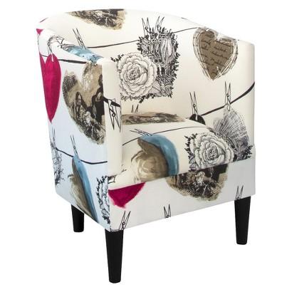 Vallila Tub Chair - Hearts
