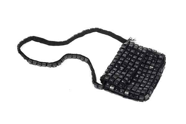Recycled Keyboard Purse