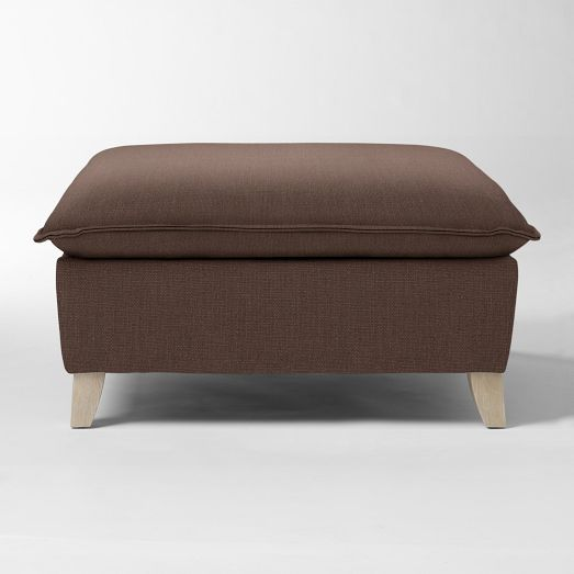 Bliss Down-Filled Ottoman |...