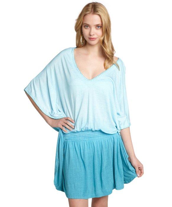Letarte : blue tie dye cott...