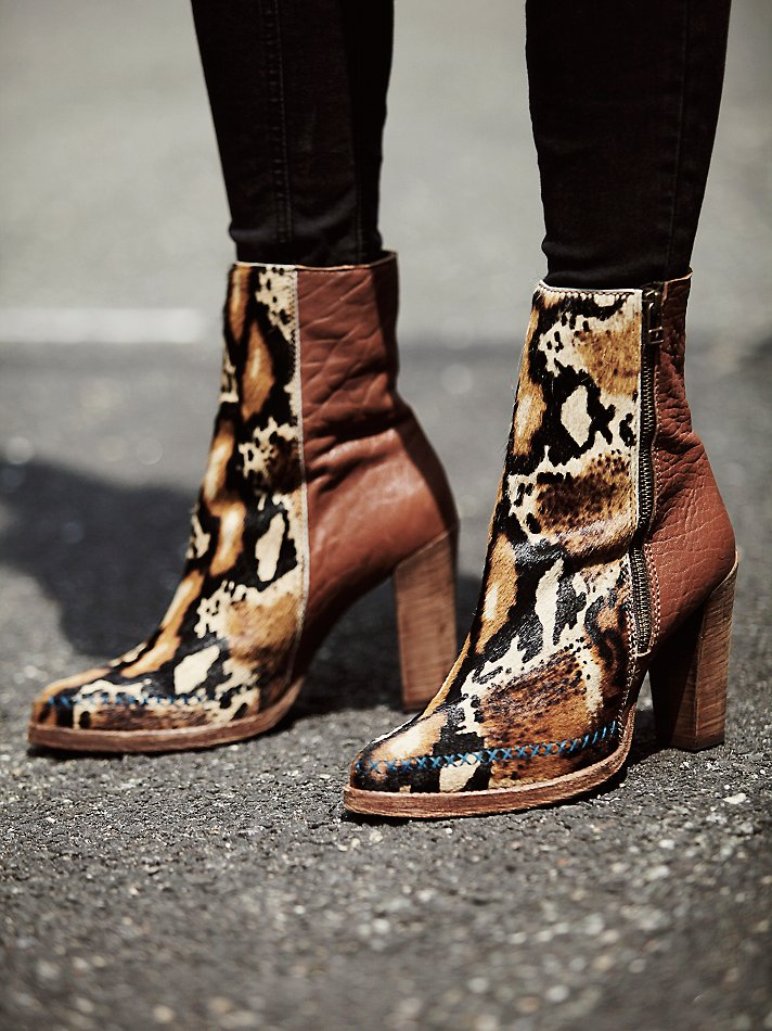 Baroness Heel Ankle Boot at...