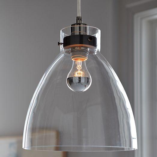 Industrial Pendant – Glass ...