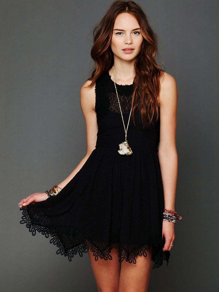 Free People Lace Dream Dres...