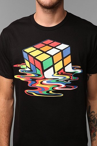 Melted Cube Tee