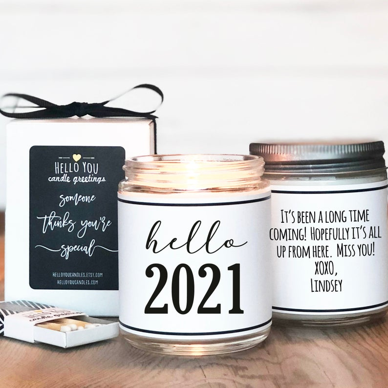 Hello 2021 Candle Gift  202...