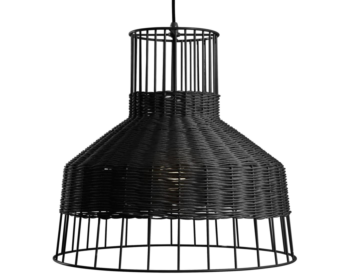 Medium Pendant Light - Black