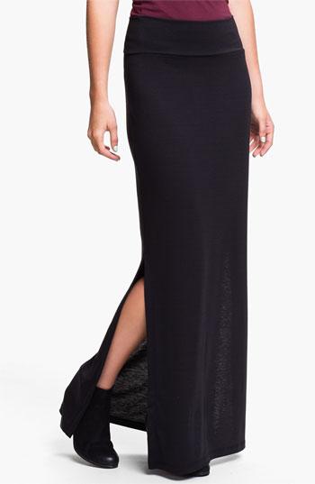 Lily White Maxi Skirt (Juniors)   Nordstrom