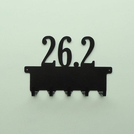 26.2 Metal Art Medals Rack