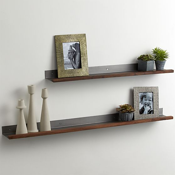 Lumber 48 Shelf In Picture Frames Ledges Crate And Barrel