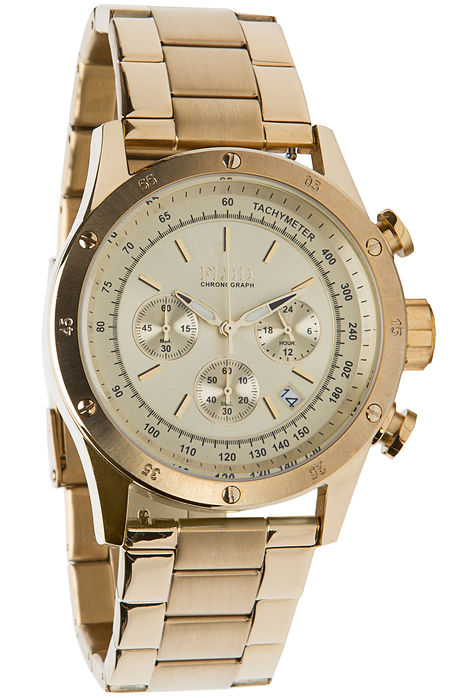 The Frost Watch in Gold Lin...