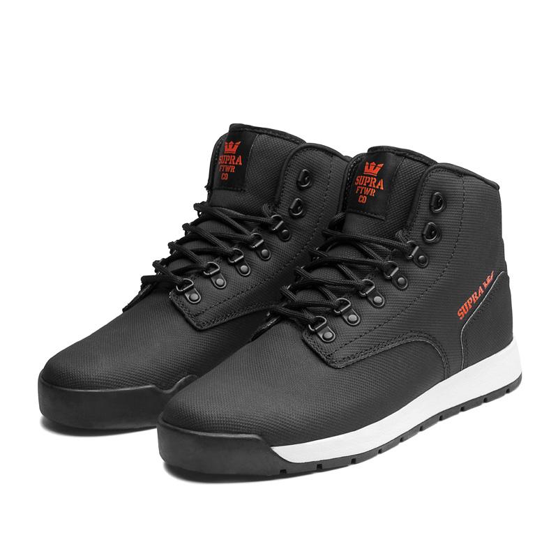 SUPRA BACKWOOD Shoe | BLACK...