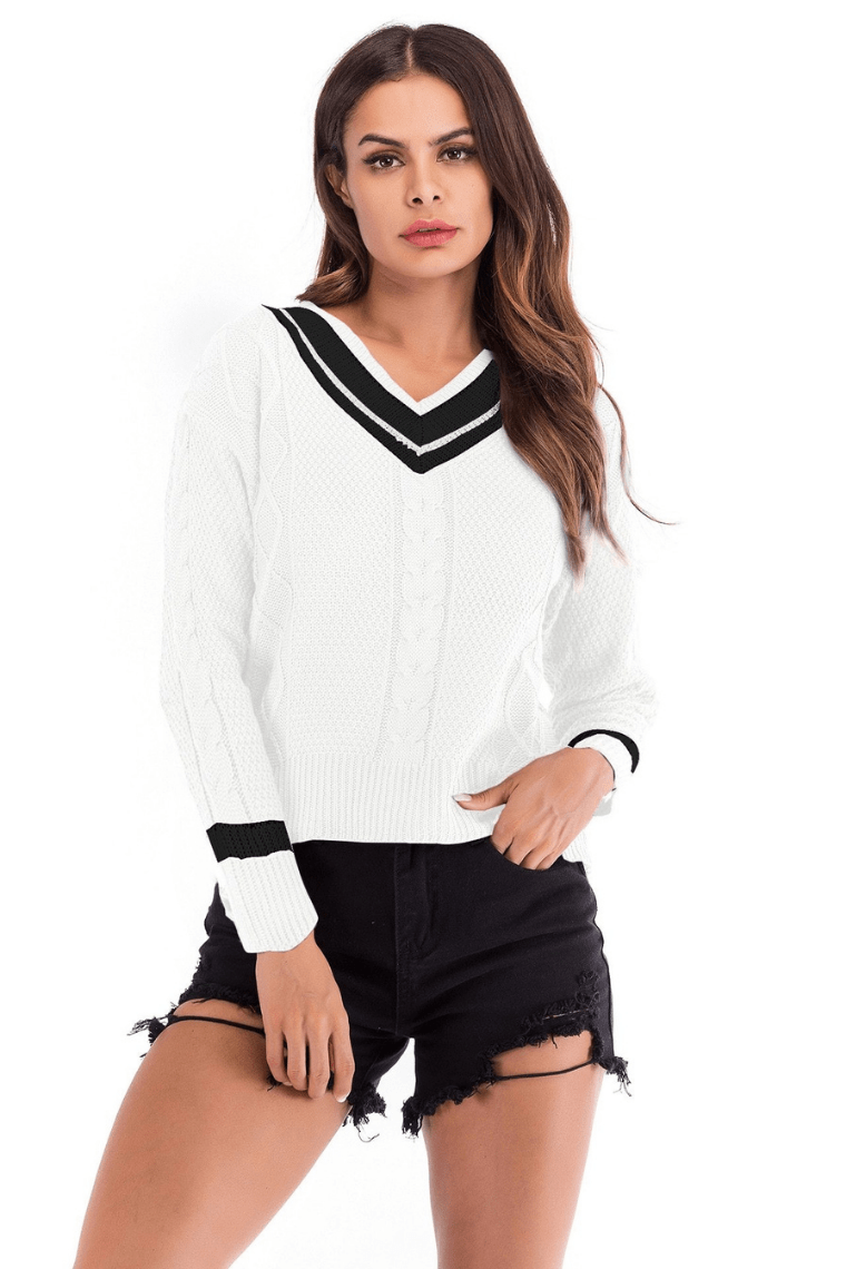 Sassy But Sweet Pullover Top