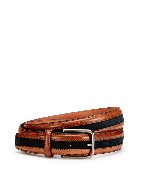 Full Grain Leather Belt wit...
