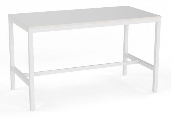 White High table + Sheek Stool