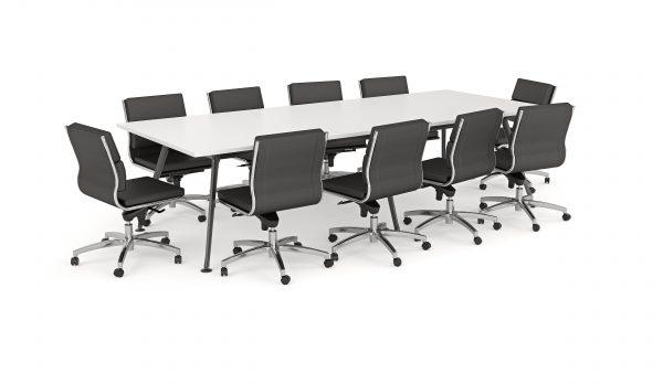 Team Boardroom Table + Flex...