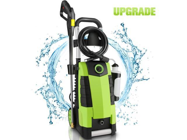 Electric high pressure washer, 3000PSI high pressure washer, suitable for cleaning of car fence terrace garden, 1.7GPM 1800W power washer, green - Newegg.com