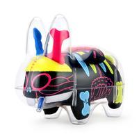 "The Visible Labbit 7"" Art Toy by Frank Kozik - Kidrobot Exclusive Neon Edition (PRE-ORDER) - Kidrobot"