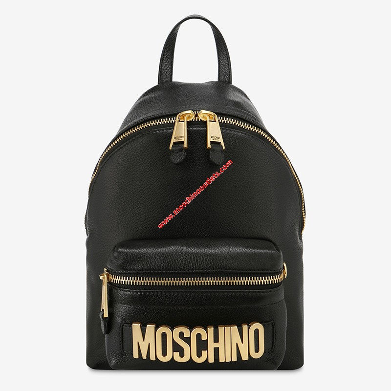 Moschino Lettering Logo Bac...