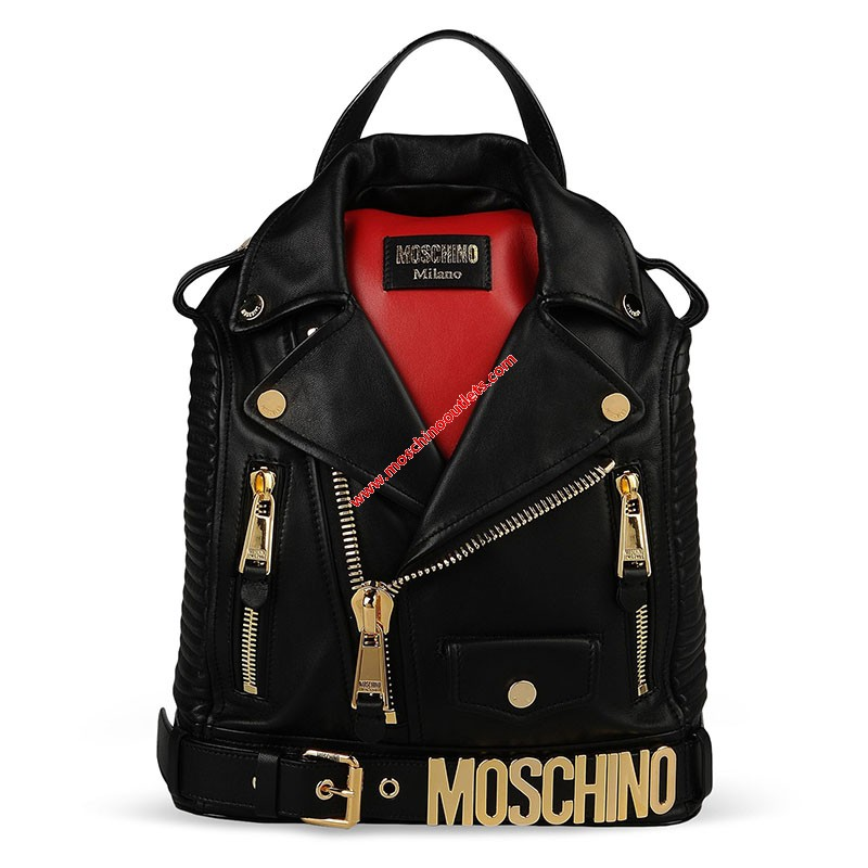 Moschino Biker Jacket Large...