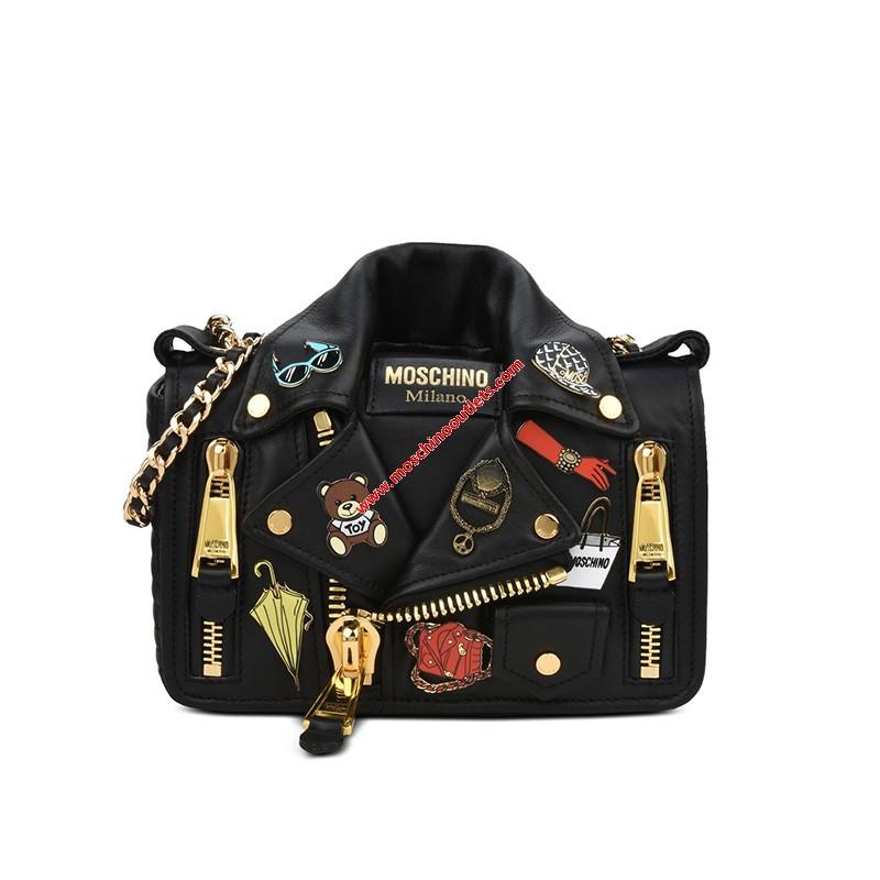 Moschino Iconic Badges Shou...