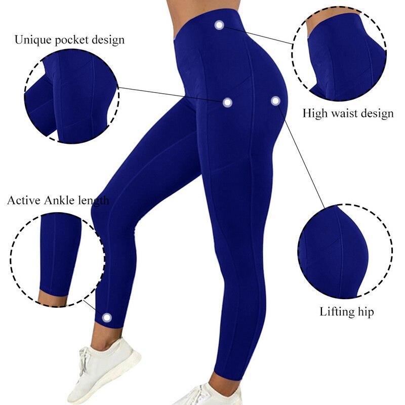Chrideo | Women's Blue Legg...