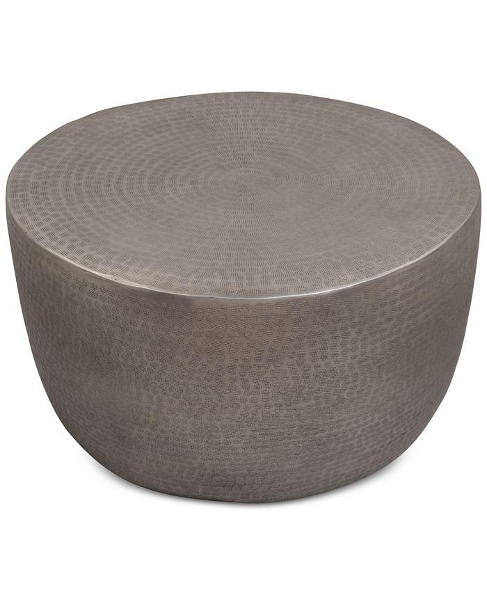 Furniture -  Metal Drum Coffee Table