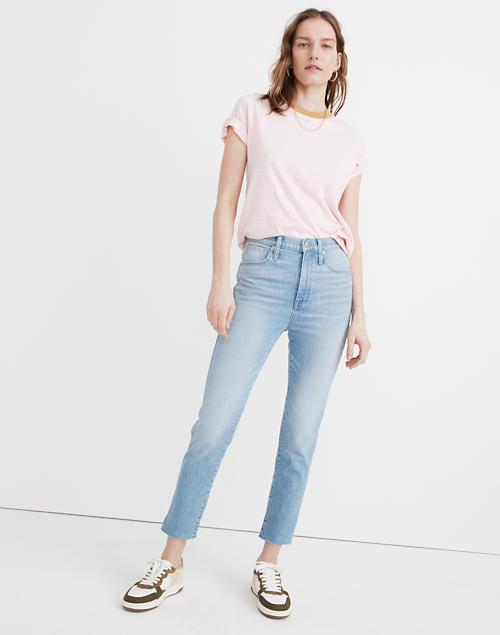 Jeans in Devoe Wash: Raw-Hem Edition in devoe wash image 1
