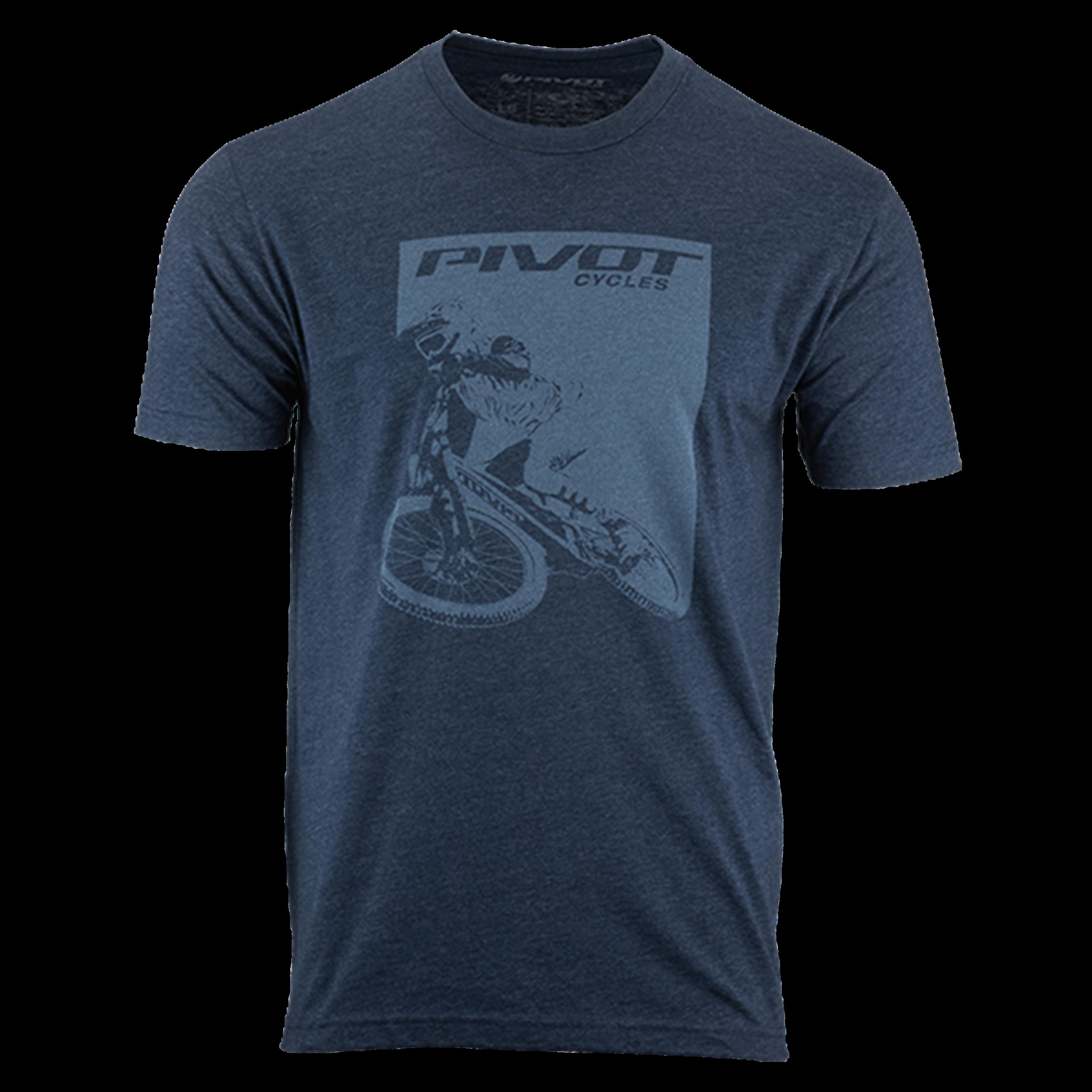 Pivot Rider Men's Tee - Navy