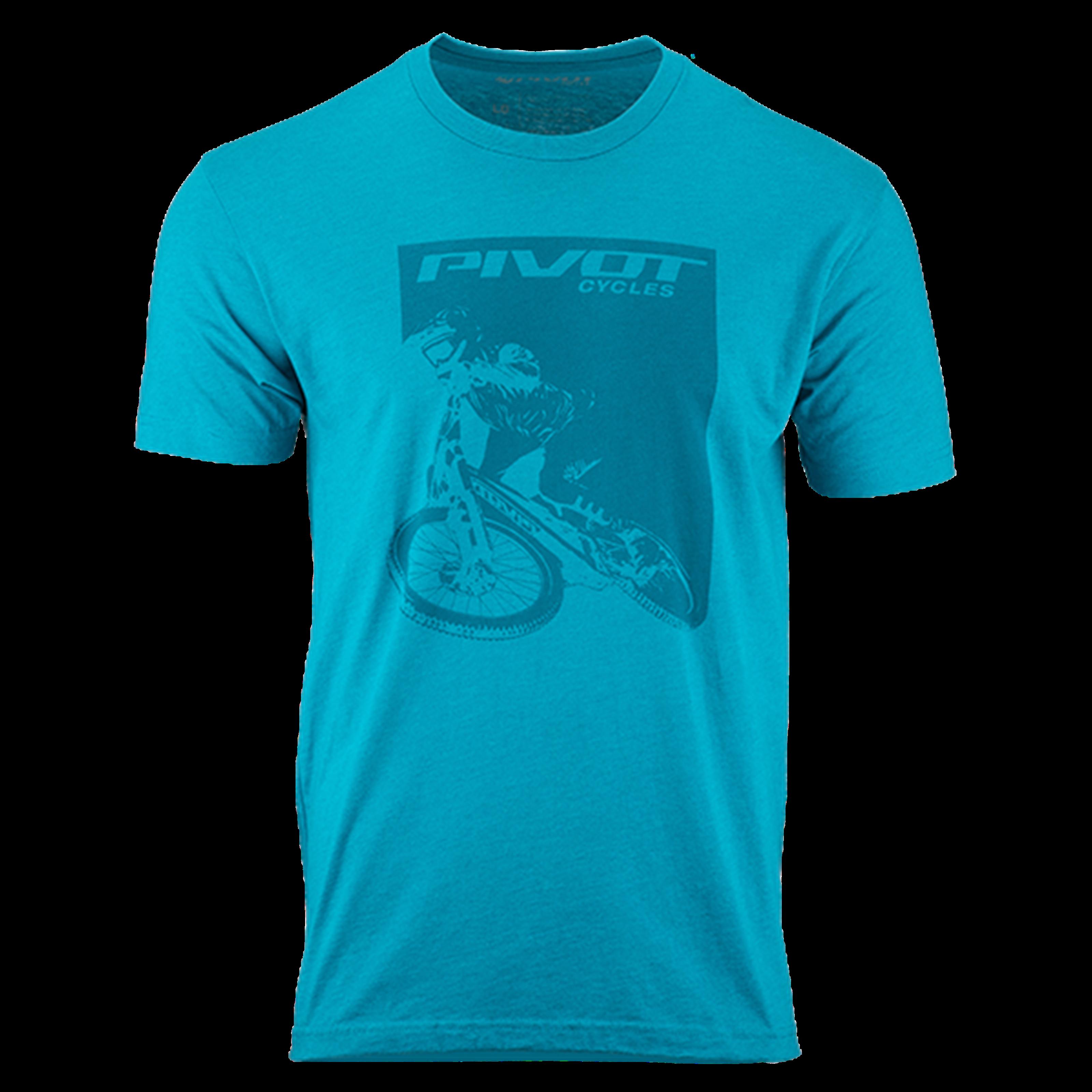 Pivot Rider Men's Tee - Teal