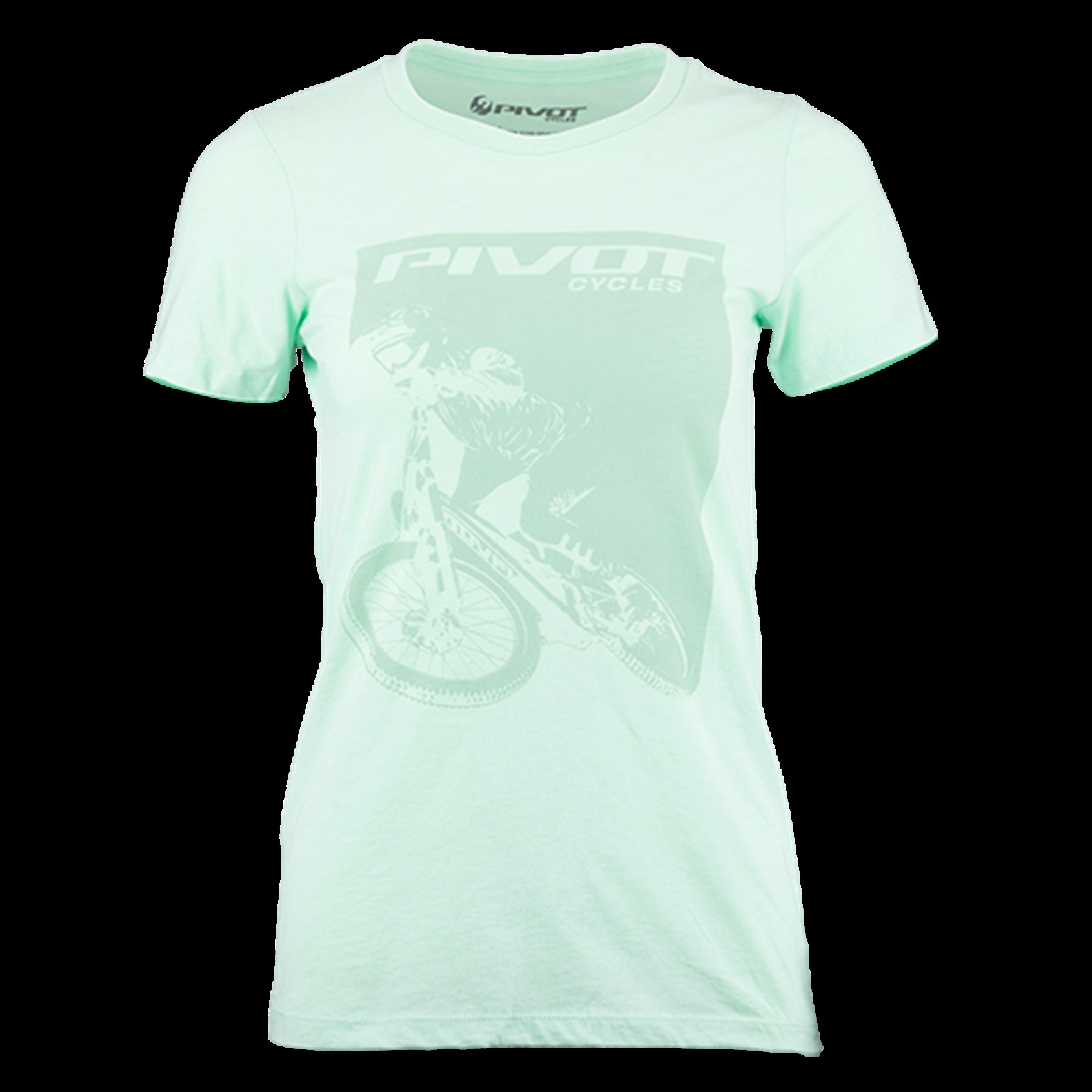 Pivot Rider Women's Tee - Mint