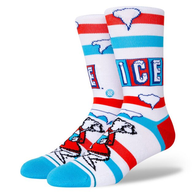 ICEE WHITE on Foot Form