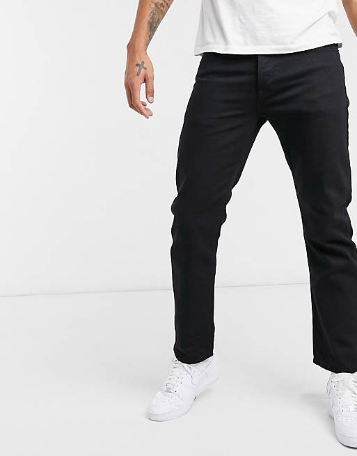 straight jeans in black, 1 of 4
