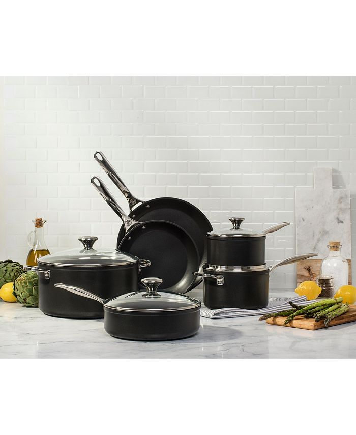 Toughened Nonstick Pro 10-Pc. Cookware Set