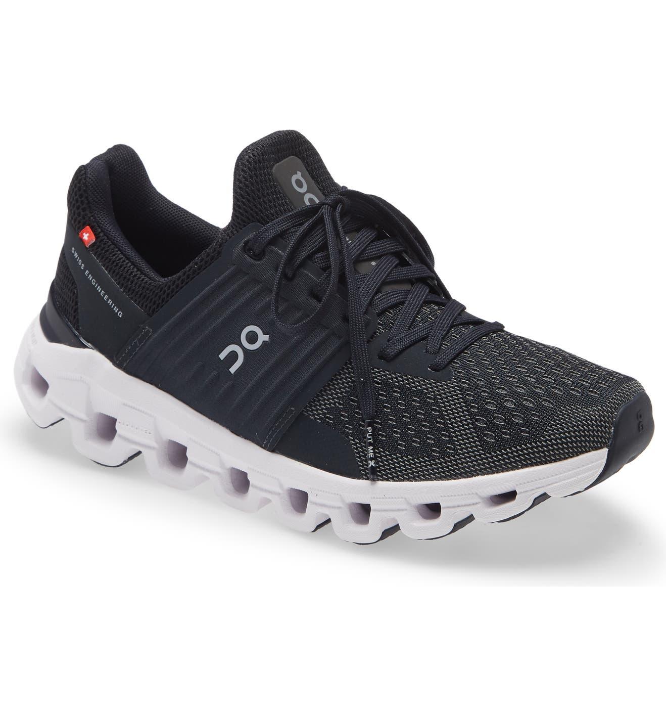 Cloudswift Running Shoe, Main, color, BLACK/ ROCK/ BLACK ROCK