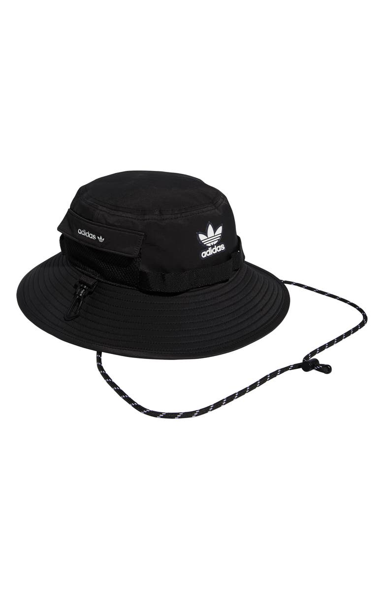 ADIDAS Originals Unisex Utility Bucket Hat, Main, color, BLACK