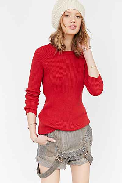 BDG Johnny Ribbed Sweater -...