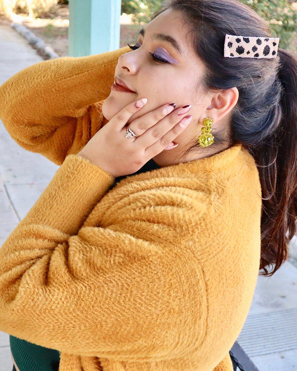 Lover Chunky Heart Earrings...