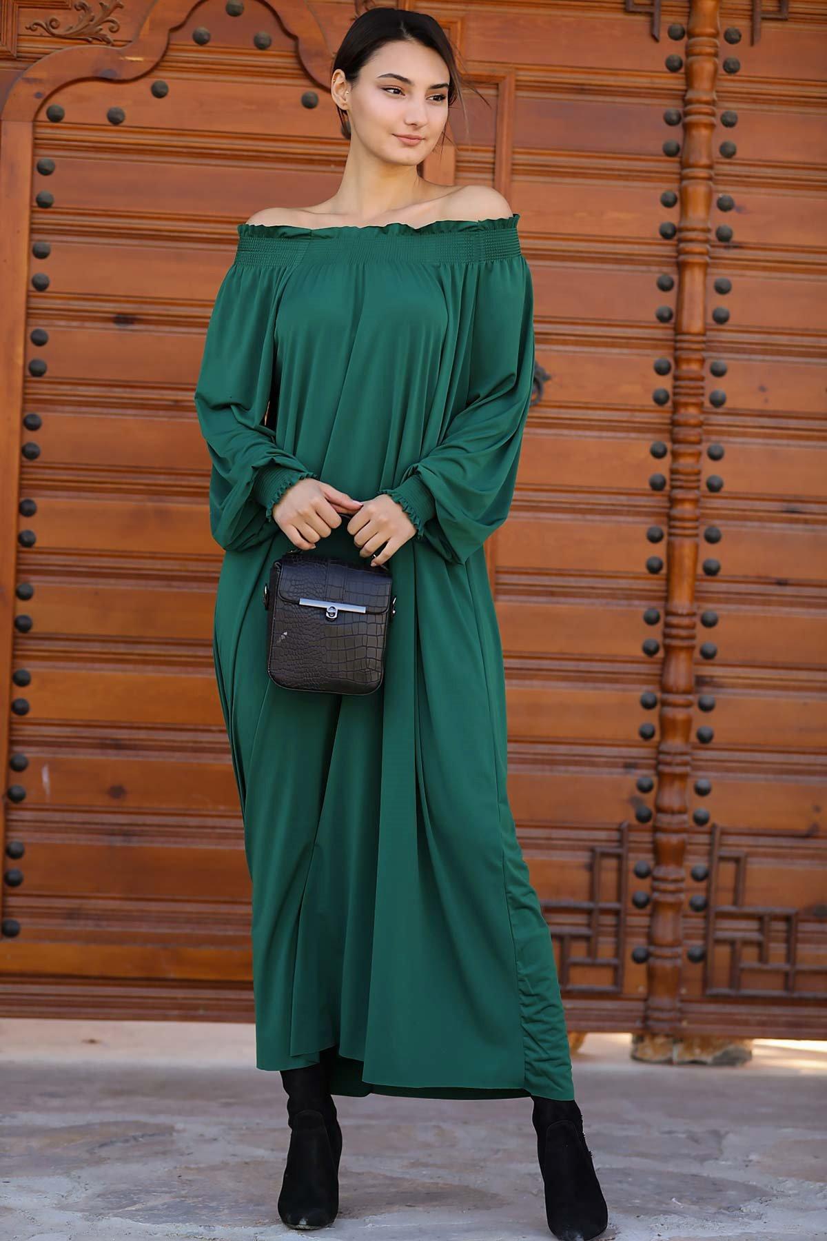 Women's Green Long Dress