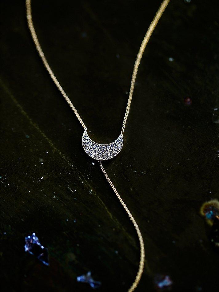 Zoe Chicco Diamond Crescent...