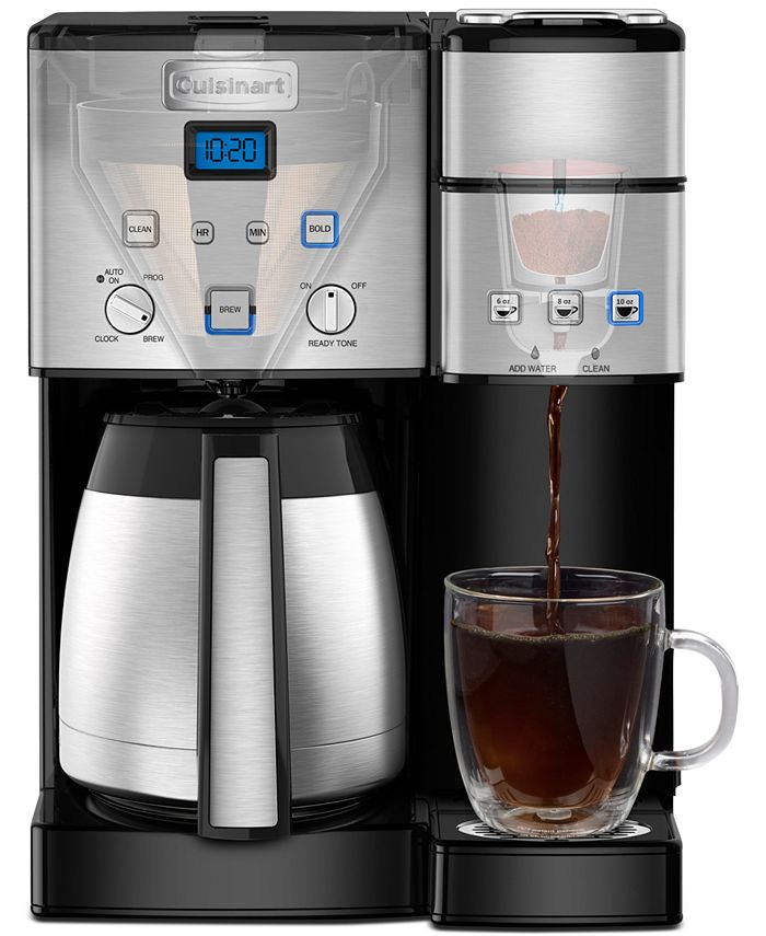Coffee Center 10-Cup Thermal Coffeemaker & Single-Serve Brewer