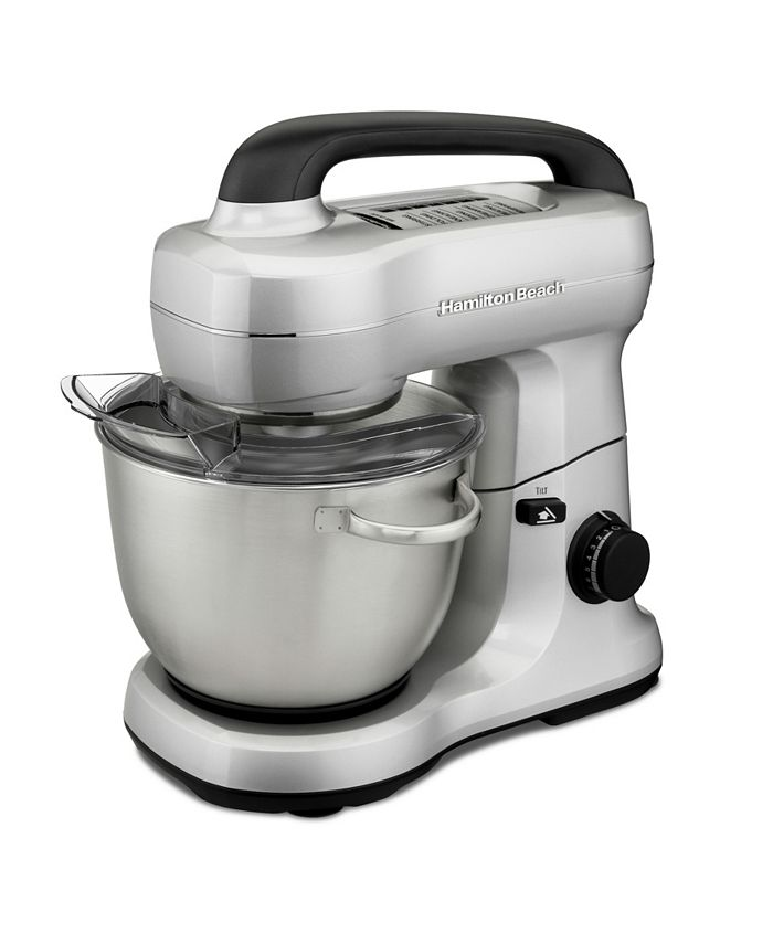 Metalic Silver 7 Speed Stand Mixer
