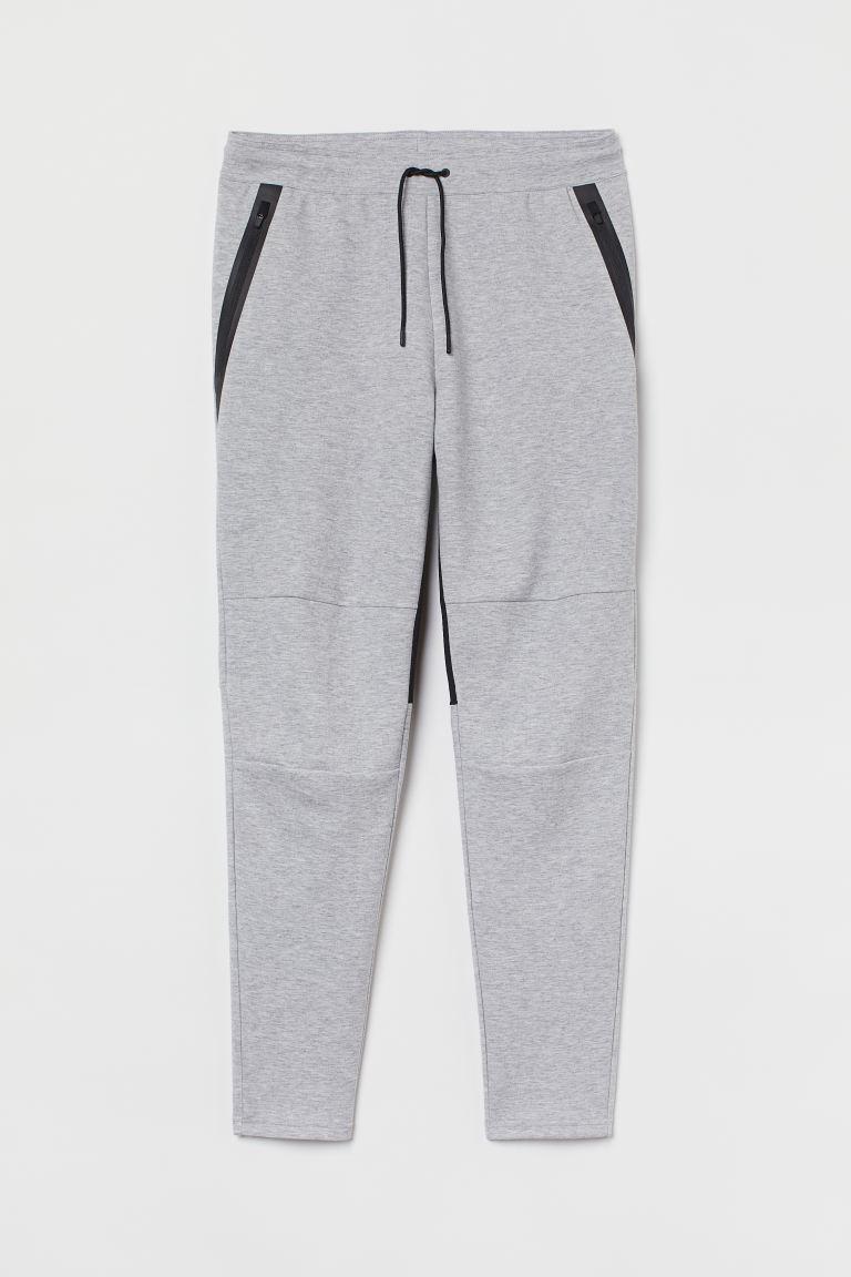 Sports Joggers - Light gray melange - Men   H&M US 6