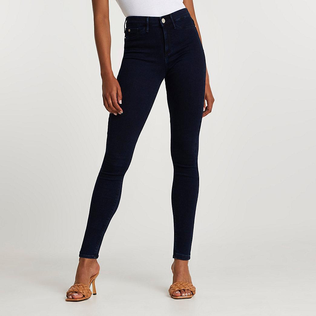Denim Molly mid rise skinny jeans