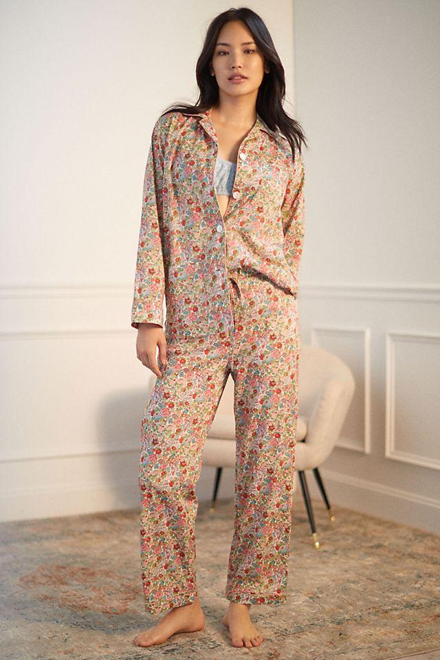 Roller Rabbit Garden Floral Pajama Set