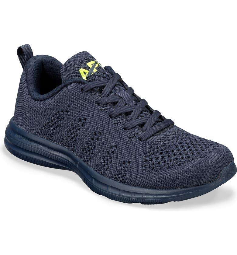TechLoom Pro Knit Running Shoe, Main, color, NAVY
