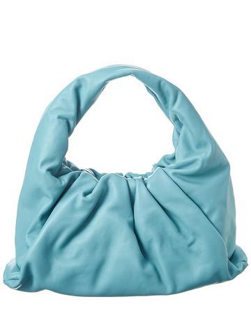 Soft Voluminous Leather Hobo Bag